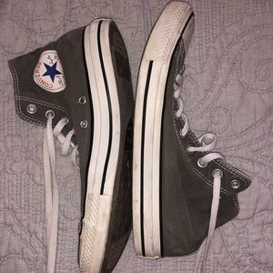 ⚡️Converse All Star High Tops Gray Size 9.5⚡️